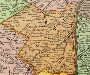 Vintage Ulster County Map (1897)