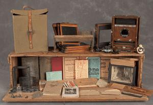 Suitcase of Robert Y, courtesy John Crispin