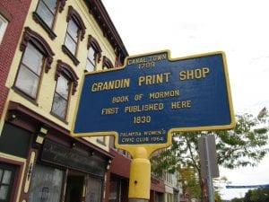E.B. Grandin Print Shop