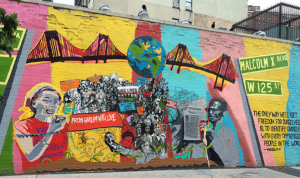 From Harlem with Love A Mural Project for Yuri & Malcolm,
