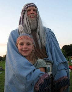 Participants in the Hill Cumorah Pageant