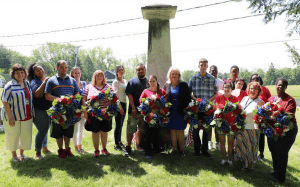 Vanderheyden Day of Remembrance Wreath Laying