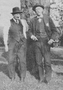 William A. Wright of Boonville NY's 97th Regiment and the lieutenant's cousin, Frank L. Wright