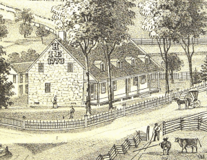 hathorn house illustration