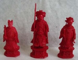 red chess set