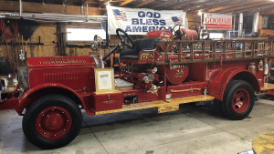 1926 O.J. Childs Fire Truck