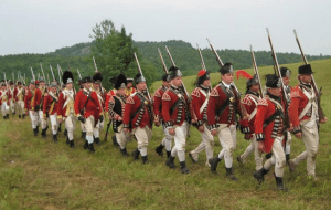 battle of hubbardton reenactment