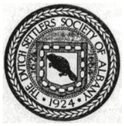dutch settlers society of albany