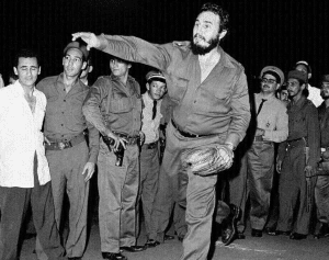 Castro showing off his pitching form (provided by Associated Press)