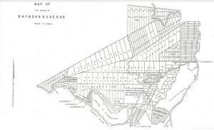 Kayaderosseras Patenty Survey Map – Don Carpenter