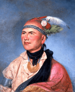 Mohawk military and political leader Joseph Brant