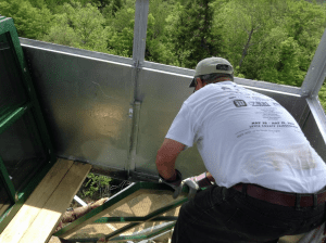 Stillwater Mt. tower restoration