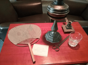 items used by Grant at the time he wrote memoirs