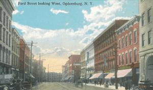 Ford Street in Ogdensburg