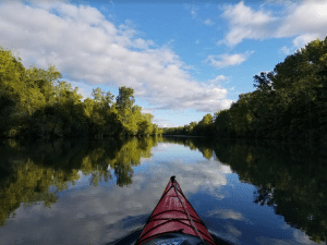 Paddling the Erie Canal