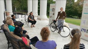 Women on a Wheel event
