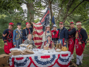 5th New York Volunteer Infantry reenactors