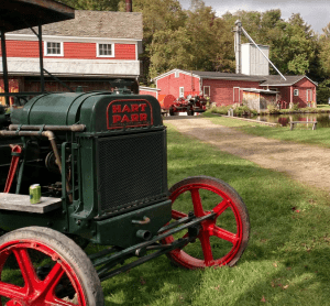 Hatt Parr tractor and Ahrens Fox fire pumper