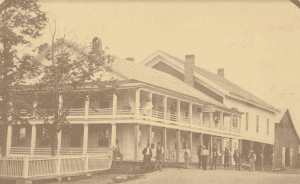 J. Snyder's Hotel in Heuvelton in the late nineteenth century