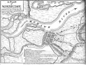 Map of Mohawk Valley Schenectady West