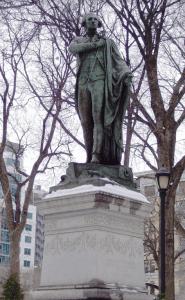 Statue of Lafayette in New York Citys Union Square