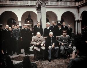 The Yalta Conference Crimea February 1945
