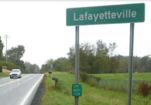 hamlet of Lafayetteville