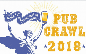 pints for preservation pub crawl