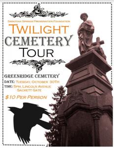 twilight cemetery tour