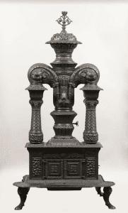 18c Morrison Four Column Parlor Stove