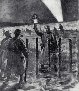 Christmas Truce by Frederic Villiers