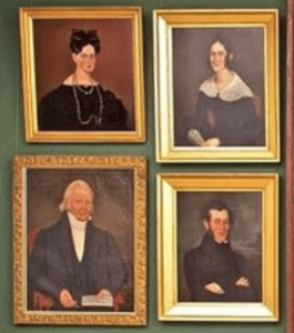 Early American/Columbia County Portraits from the permanent collection of the CCHS