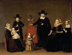 Family group by Willem Cornelisz