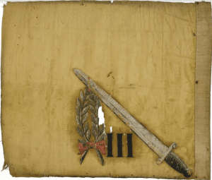 Flag of the 3rd Connecticut Regiment during the Revolutionary War