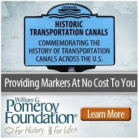 historic canal signs