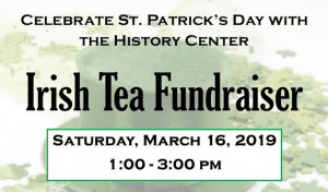 irish tea fundraiser