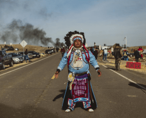 Standing Rock by Camille Seaman