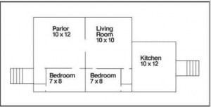 Worker Cottage Plan