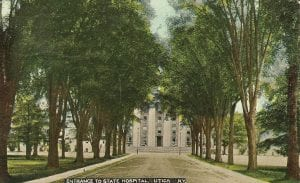 Old Main State Hospital Utica Lunatic Asylum