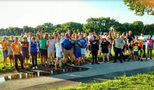 Schenectady walking tour participants