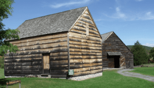 New World Dutch Barn and Hartmans Doft House at Old Stone Fort Museum