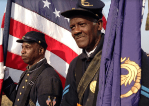 New York Regiment United States Colored Troops Reenactors