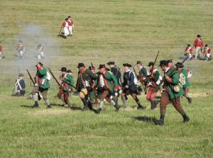 2018 Hubbardton Battlefield battle weekend