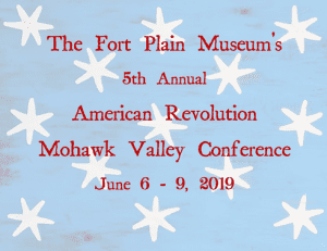 2019 American Revolution Mohawk Valley Conference