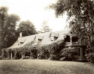 Austen House Porch and Balcony by Alice Austen