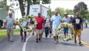 Emancipation Day Processional to the Peterboro Cemetery