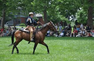 Sagamore Hill equestrian reenactment