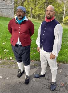 Slavery drama actors