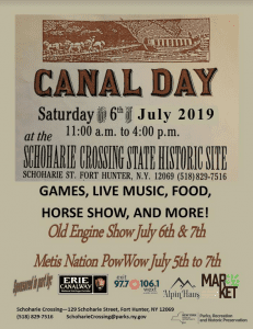 schoharie crossing canal days