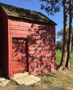 slave quarters at the Bush Lyon Homestead in Port Chester